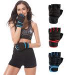 Оригинал KALOAD1паранеопренаСпортивныйвес Подтяжка Перчатки Противоскользящее полу пальцы Перчатки Упражнение Обучение Фитнес Перч