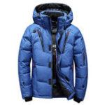 Оригинал Мужская зима На открытом воздухе Толстая теплой куртка изолированная парка