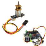Оригинал 5V 300RPM N20 DC Мотор C Модуль + DuPont Line DIY Набор для Arduino Smart Robot Авто Поддержка прямого / обратного вращения