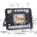 Оригинал 50W полный спектр COB LED Растение Grow Flood Light AC220-240V Водонепроницаемы для На открытом воздухе Крытый