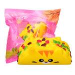 Оригинал Кот Растительный ролл Squishy 11.8CM Jumbo Slow Rising Soft Коллекция подарков для подарков с упаковкой