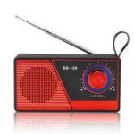 Оригинал Портативный Мини FM Радио Bluetooth 4.2 Беспроводной Динамик USB TF Карта Радио Динамик