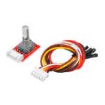 Оригинал KEYES 360 градусов модуль управления роторным энкодером электронный строительный блок для Arduino микро бит