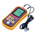 Оригинал GM100 Digital LCD Дисплей Ультразвуковой толщиномер Металлоискатель Измерительные приборы от 1,2 до 200MM Звуковой измеритель скорости