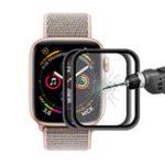 Оригинал 2упаковкиEnkayалюминиевыйсплавзакаленное стекло Screen Protector для яблоко Watch серии 4 40 мм 0,2 мм 3D изогнутые края 9H фильм