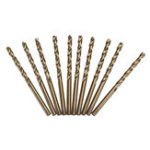 Оригинал Drillpro 10pcs HSS M35 1.5/2/2.5/3/4/4.5/5mm Cobalt Twist Drill Bits Set