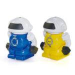 Оригинал Мини Поп Может RC Боевой Робот Инфракрасный Робот Игрушка в Подарок Для Детей