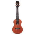 Оригинал Enya EUC / T-X2M 23 26 дюймов Гитара укулеле красное дерево HPL BT красное дерево Шея черный рихлит гриф