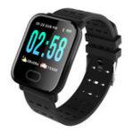 Оригинал A6 Браслет Smart Watch с сенсорным экраном Водостойкий Smartw