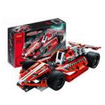 Оригинал DECOOL 3412 Technic Racing Авто 158PCS Строительные блоки Наборы игрушек для детей Модель игрушки