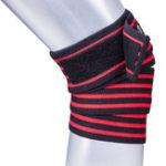 Оригинал KALOAD1,8мэластичныйбинтнаколенник Фитнес упражнения наручные охранники спортивный бинт защитное снаряжение