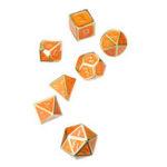 Оригинал Solid Metal Heavy Кости Set Polyhedral Костиs Ролевые игры Кости Gadget RPG