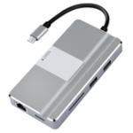 Оригинал 8-в-1 Type-C – USB 3.0 PD 3.0 Зарядка 4K Видео Дисплей Гигабитный RJ45 SD TF-концентратор с поддержкой телефона