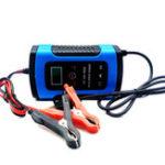 Оригинал iMars ™ 12V 6A Blue Pulse Repair LCD Батарея Зарядное устройство для Авто мотоцикл Свинцовая кислота Батарея Agm Гель Wet