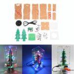 Оригинал DIY Colorful Рождественская елка Bluetooth MP3 Электронное производство Набор Музыка Дистанционное Управление Аудио