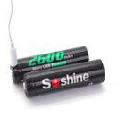 Оригинал 4шт3.7V2600mAh18650литий Батарея USB аккумуляторная фонарик Аккумуляторы с защитой Коробка