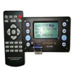 Оригинал Bluetooth4.2DC5VБатарея12VДвухканальная аудиозапись на плате декодера Радио Тексты песен Дисплей APE FLAC WMA WAV MP3