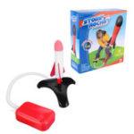 Оригинал DIY Flash Stomp Rocket Foot Ejection Model Toys Цвет Коробка Упаковка Подарочная коллекция
