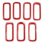 Оригинал Авто Передняя решетка вставляет сеточные аксессуары для Jeep Renegade 15-16