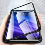 Оригинал Bakeey360°магнитнаяадсорбцияметалла закаленное стекло защитная флип Чехол для Xiaomi Mi 8 Lite