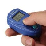 Оригинал EM2271 Mini Thickness Gauge Coating Digital Painting Tester Meter Mini LCD Автомобильные данные Hold Авто Измерение толщины покрытия Инструмент