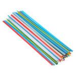 Оригинал 50шт 25см пп пвх пластиковые сварочные прутки сварщик палочки синий желтый белый красный зеленый