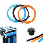 Оригинал 2M / 5M 6mm Flat Seal 2020 Алюминиевый профиль Крышка слота / держатель панели с черным / оранжевым / синим для 3D принтера серии CR10