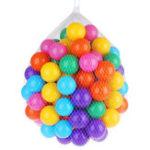 Оригинал 5.5 / 7 / 8см Baby Kid Pit Toy Плавать Colorful Soft Пластиковый шарик океана 50/100 / 200PCS Новинки игрушки