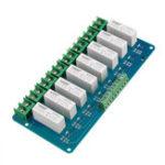 Оригинал 8-канальный твердотельный высокой мощности 3-5VDC 5A релейный модуль для Arduino