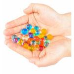 Оригинал 24ЦветаDIYВодныеБусыСпрей Волшебный Ручной 3D Головоломки Развивающие Игрушки для Детей Набор Игры с мячом