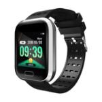 Оригинал BakeeyA8БольшойэкранСердцеОценить сообщение о кровяном давлении Caller Дисплей Multi-Sport Sport Smart Watch