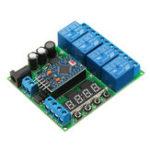 Оригинал 4 канала для мини платы расширения Pro Diy Многофункциональное реле задержки PLC Power Timing Device