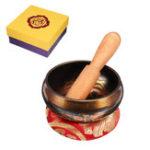 Оригинал Медь Тибетская поющая чаша для медитации / молитвы / Yoga / Внимательность