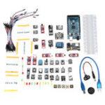 Оригинал DIY Mega 2560 R3 HC-SR04 Совет по развитию 37 в 1 Датчик Набор Для Arduino