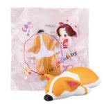 Оригинал Корги Squishy Kawaii Animal Jumbo Soft Игрушечная коллекция подарков с пакетом