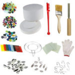 Оригинал 14Pcs Microwave Kiln Kits  DIY Fusing Glass Set Jewelry Crafts Pendant Making Creative Gifts Decor