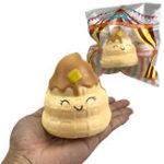 Оригинал Purami Squishy Sweet Expressions Poo Jumbo 8CM Медленный рост Soft Игрушки с упаковкой Подарочный декор