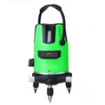 Оригинал 3D Green 2/5 Line Лазер Уровень 360 ° Поворотный Самовыравнивающийся Горизонтальный Вертикальный Инструмент