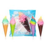 Оригинал Squishy Ice Cream 30 * 10 * 9.5CM Jumbo Украшение с упаковкой Подарочная коллекция Медленно растущие игрушки Jumbo
