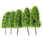 Оригинал Темные / Светло-Зеленые Деревья Модель Поезда Железнодорожный Лес Варгейм Пейзаж