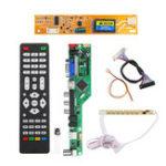 Оригинал T.RD8503.03 Универсальный LCD LED Плата драйвера ТВ-контроллера TV / PC / VGA / HDMI / USB + 7 клавиш + 2-канальный 6-битный 30-контактный кабель LVDS + 1 Лампа инверт