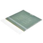 Оригинал 50шт 7-дюймовый черный диск защитный Сумки Self-Adhesive CD Storage Сумка Прозрачное утолщение 10 проводов