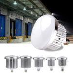 Оригинал AC85-265V 15W 25W 50W 80W 100W E27 Pure White Светодиодный Лампа Склад Промышленный завод Лампа