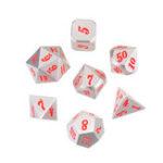 Оригинал Heavy Кости Set Solid Metal Polyhedral Костиs Ролевые игры Кости Gadget RPG