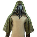 Оригинал TTGTACTICALGH20ВоздухопроницаемаясеткаAirsoftSniper Ghillie Suit Foundation На открытом воздухе Охотничья тактическая куртка Ghillie