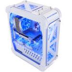 Оригинал 46 * 21 * 54,5 см Pccooler Blizzard Acrylic Ttransparent Computer Чехол Вертикальный для ATX / ITX / M-ITX