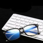 Оригинал Анти-Усталость Компьютерные Зеркальные Очки Радиационной Защиты Синий Свет Фильтр Мужчины Женщина