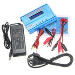 Оригинал iMAX B6 AC 80W 6A Lipo Батарея Балансное зарядное устройство с адаптером питания