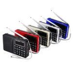 Оригинал L-258 AM FM SW LCD Дисплей Карманный портативный Радио Приемник MP3-плеер