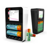 Оригинал ISDT C4 8A сенсорный экран Smart Батарея зарядное устройство с 4шт 2000 мАч аккумуляторная А.А. Батарея предел подарка